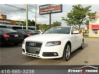 2012 Audi A4 2.0T Premium Plus w/ NAVI, SUNROOF, AWD, CLEAN CAR