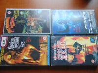 4 x Misc. VHS Films Cert. 15
