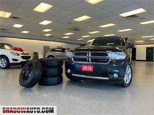 2013 Dodge Durango SXT -7 SEATER -4X4 V6  -CLEAN CAR PROOF