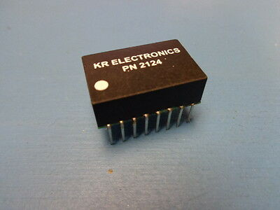 1 Kr 2124 5.5 Mhz 75 Ohm Low Pass Video Filter Ic 600 Mil 16 Pin Pdip Kr2124