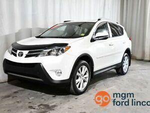 2015 Toyota RAV4 LIMITED AWD | LEATHER | HEATED FRONT SEATS | NA