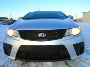 2010 KIA FORTE KOUP SPORT PKG-HEATED SEATS-SUNROOF