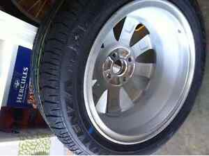Single Car Tyre with Alloy Wheel for Honda Jazz Harrison Gungahlin Area Preview