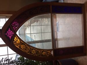 Stained Glass windows from Purple Grove Methodist Chruch