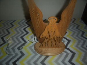 Angel Lamp,Casserole Fish Dish,Swan Napkin Holder.