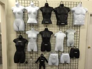Mannequins/ bust forms/ Judy/ leg form/ butt form/plastic form