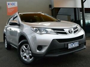 2015 Toyota RAV4 ZSA42R GX 2WD Silver 7 Speed Constant Variable Wagon Fawkner Moreland Area Preview