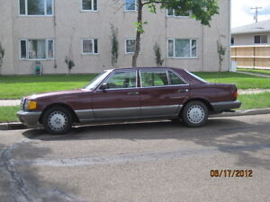 420sel Mercedes Benz Got to sell will let go for 2000 dollars!