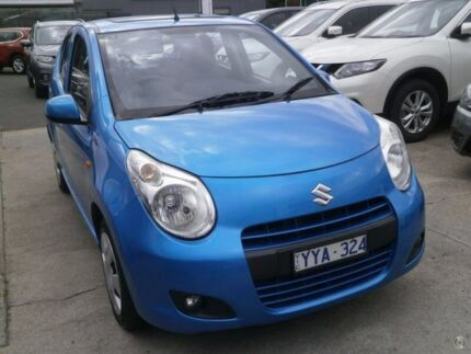 2012 Suzuki Alto GF GL Blue 5 Speed Manual Hatchback