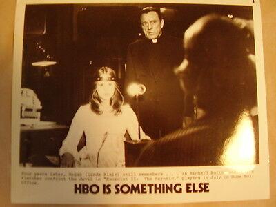 HBO PHOTO 1980s Exorcist II with Linda Blair and Richard Burton