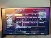 "Philips Ultra-Slim 47"" 3D LED Full HD Smart TV , Freesat, WiFi, Ambilight and John Lewis Warranty"