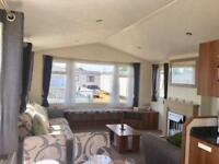 JUST IN STOCK - 2012 Static Caravan including side decking sited and connected