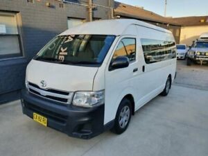 2012 Toyota HiAce TRH223R MY12 Upgrade Commuter White 4 Speed Automatic Bus Peakhurst Hurstville Area Preview