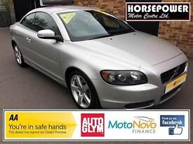 2008 Volvo C70 2.4 i Sport Geartronic 2dr Petrol silver Automatic