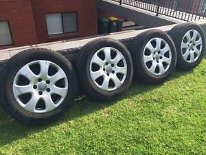 "Audi Q7 Genuine 18"" Wheels And Tyres Ryde Ryde Area Preview"