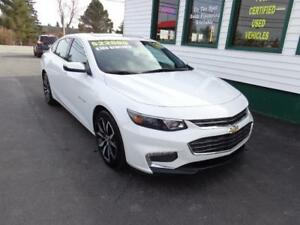 2017 Chevrolet Malibu LT only $188 bi-weekly all in!
