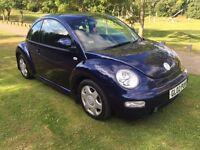 2002 Volkswagen Beetle 1.8 t 12 months mot