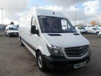 Mercedes-Benz Sprinter 3.5T High Roof Van DIESEL MANUAL WHITE (2016)