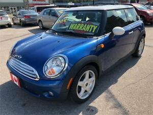 2009 MINI Cooper Hardtop AUTO...LOW KMS..MINT..ONLY $7250.