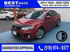KIA FORTE KOUP - APPROVED IN 30 MINUTES - REBUILD YOUR CREDIT!