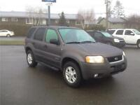 2002 FORD ESCAPE LIMITED V6 AWD LEATHER & ROOF! EXCELLENT!