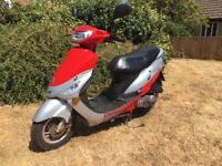SOLD 2012 Peugeot Vclic V Clic evp2 50cc scooter moped low miles SOLD