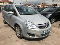 2009 Vauxhall Zafira 1.9 CDTi Exclusiv 5dr, AUTOMATIC, DEISEL, WELL LOOKED AFTER FAMILY CAR.