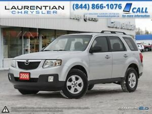 2009 Mazda Tribute GX I4 - 5-SPEED MANUAL!! SELF CERTIFY!