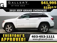 2015 JEEP GRAND CHEROKEE 4X4 *EVERYONE APPROVED* $0 DOWN $199/BW