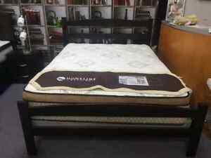 BRAND NEW SOLID WOOD CANADIAN MADE QUEEN  BEDS ON SALE Kitchener / Waterloo Kitchener Area image 3