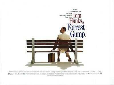 Forrest Gump movie poster print : Tom Hanks - 12 x 16 inches