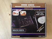 CamLink VMX 1500 Processor/Processor/Stereo Mixer Video editing unit