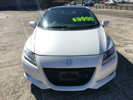 2011 Honda CR-Z ZF MY12 LUXURY COUPE Pearl White Constant Variable Coupe