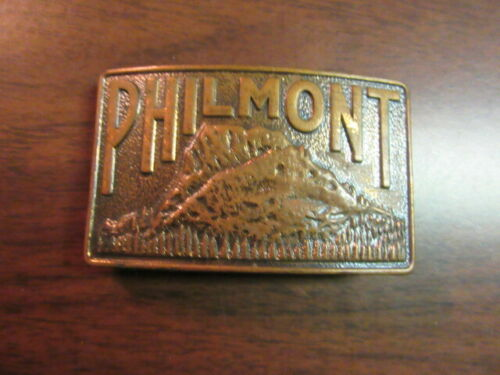 Philmont Tooth of Time Belt Buckle  Older Heavier Issue     c43
