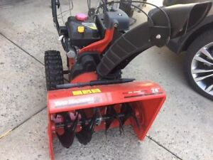"""Yard Machines 24"""" Two-Stage Snow Blower. Moving Sale."""