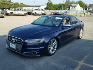 Parting out 2014 Audi S6 Prestige Sedan
