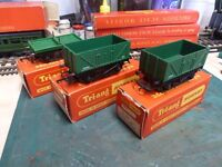 TRIANG/HORNBY 3X GOODS WAGONS
