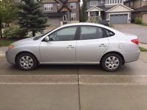 2009 Hyundai Elantra GL (includes winter tires on rims)