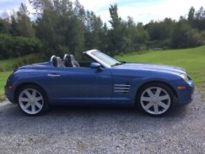 Chrysler Crossfire 2005 décapotable très propre