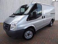 Ford Transit 2.2 85 T260M FWD Van ....Lovely 1 Owner Van....Metallic Silver.....No Vat