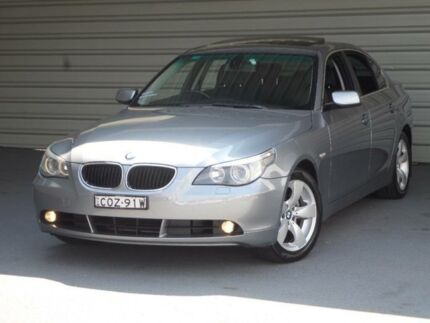 2004 BMW 530i E60 Silver 6 Speed Auto Steptronic Sedan Clyde Parramatta Area Preview