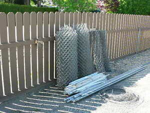 Gal. Chain Link Fence