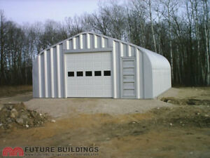 Steel storage building/garage