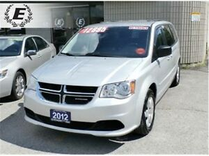 2012 Dodge Grand Caravan SE WITH STOW N GO SEATS