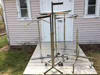 PRICED FOR QUICK SALE - 4 Clothing racks
