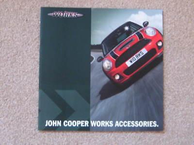 2006  JOHN COOPER WORKS ACCESSORIES BROCHURE.