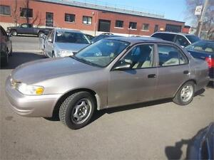 toyota corolla 2000 $950. carte credit accepter 514-793-0833