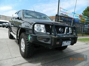 2008 Nissan Navara D40 ST-X Grey 6 Speed Manual Dual Cab Williamstown North Hobsons Bay Area Preview