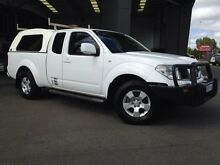 2011 Nissan Navara D40 ST-X (4x4) White 5 Speed Automatic Kingcab Beckenham Gosnells Area Preview