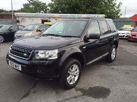 LAND ROVER FREELANDER 2.2 TD4 BLACK AND WHITE 5d AUTO 150 BHP (black) 2013